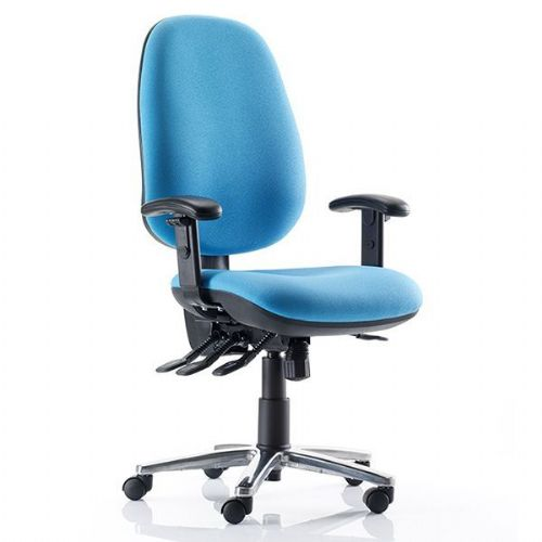 Kirby Bariatric Office Chair 35 Stone